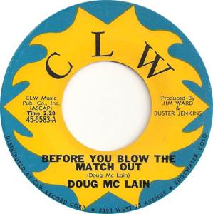 CLW 6583 - McLain, Doug - before you