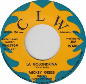 CLW 6596 - GRESS MICKEY - A REPLACE