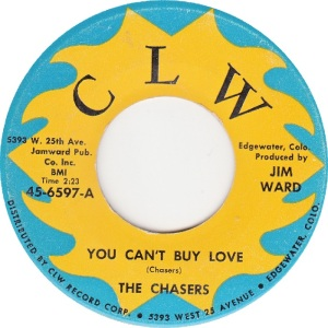 CLW 6597 - CHASERS - YOU CAN'T BUY LOVE