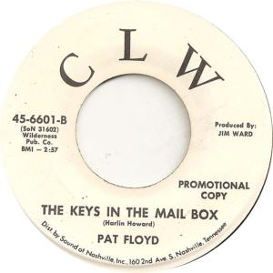 CLW 6601 - Floyd, Pat - The Keys in the Mailbox DJ