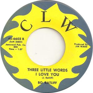 CLW 6603 - Ratliff, Bo - Three Little Words