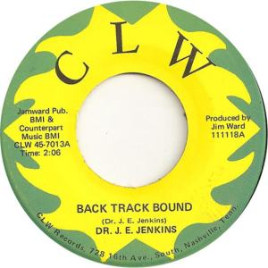 CLW 7013 - Jenkins, Dr. J.E. - Back Track Bound