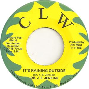 CLW 7013 - Jenkins, Dr. J.E. - It's Raining Outside