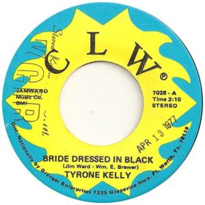 CLW 7028 - Kelly, Tyrone - Bride Dressed in Black