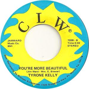 CLW 7028 - Kelly, Tyrone - You're More Beautiful