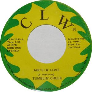 CLW 7585 - Tumblin Creek - ABC's of Love R