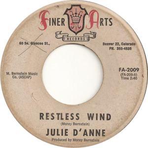 Finer Arts 2009 - D'Anne, Julie - Restless Wind