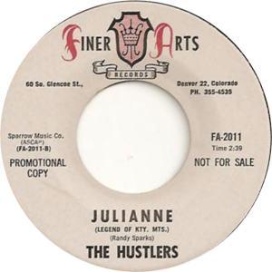 Finer Arts 2011- Hustlers - Julianne