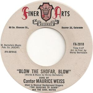Finer Arts 2018 - Weiss, Maurice - Bow the Shofar Blow