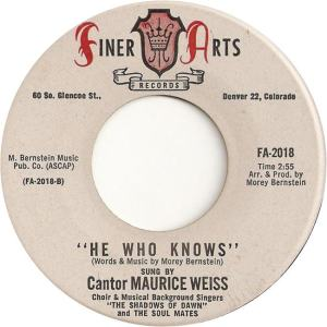 Finer Arts 2018 - Weiss, Maurice - He Who Knows