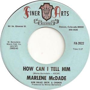 Finer Arts 2022 - McDade, Marlene - How Can I Tell Him