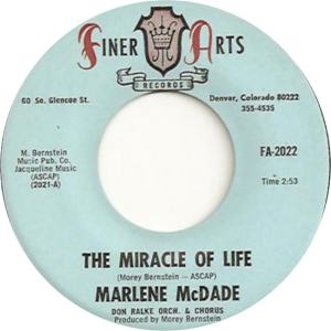 Finer Arts 2022 - McDade, Marlene - The Miracle of Life