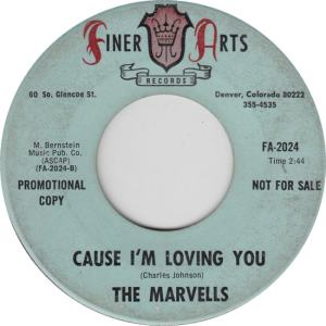 Finer Arts 2024 - Marvells - Cause I'm Loving You