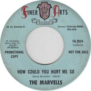 Finer Arts 2024 - Marvells - How Could You