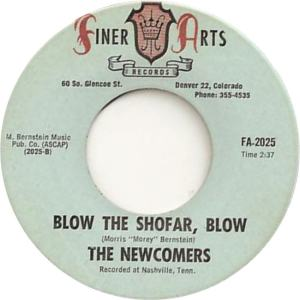 Finer Arts 2025 - Newcomers - Blow the Shofar, Blow