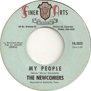 Finer Arts 2025 - Newcomers - My People