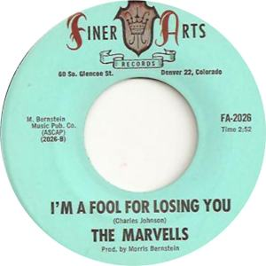 Finer Arts 2026 - Marvels - I'm a Fool for Losing You
