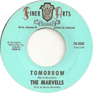 Finer Arts 2026 - Marvels - Tomorrow