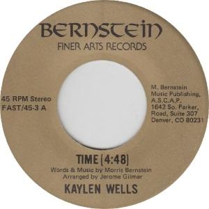 FINER ARTS 45-3 - WELLS KAYLEN - A