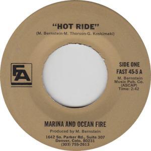 FINER ARTS 45-5 - MARINA & OCEAN FIRE A