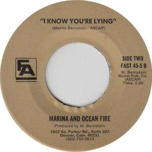 FINER ARTS 45-5 - MARINA & OCEAN FIRE B