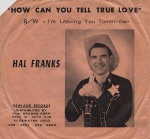FRANKS HAL - 1960'S 01 A