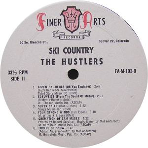 Hustlers - Finer Arts LP 103 - Hustlers Ski Country SD 1 (2)