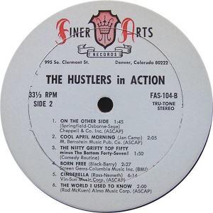 Hustlers - Finer Arts LP 104 - Hustlers In Action SD 2