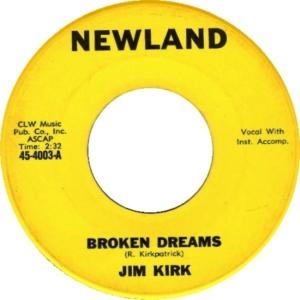 NEWLAND 45 4003 - KIRK, JIM - B