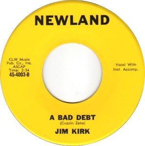 NEWLAND 45 4003 - KIRK, JIM - C