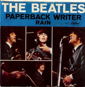 Beatles - Capitol 5651 - Paperback Writer - PS