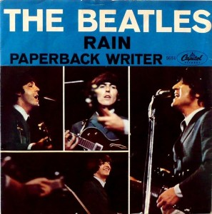 Beatles - Capitol 5651 - Rain - PS