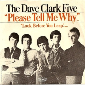 Clark Five, Dave - Epic 10031 - Please Tell Me Why - PS
