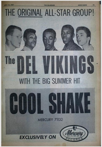 Del Vikings - July 1957