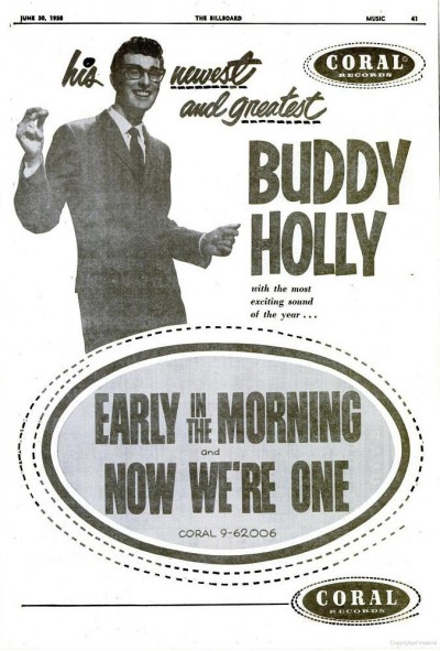 Buddy Holly - June 1958
