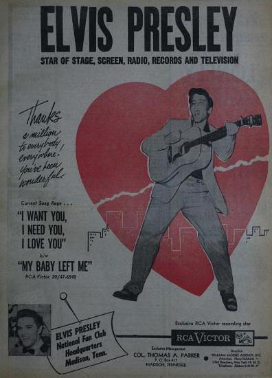 Elvis Presley - August 1956