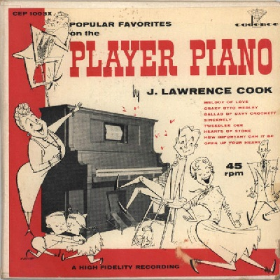 Cook, J Lawrence - Cadence 1003 - Player Piano