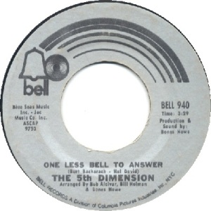 1970: U.S. Charts Hot 100 #2 R&B #4