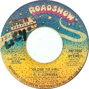 1976: U.S. Charts Hot 100 #82 R&B #31
