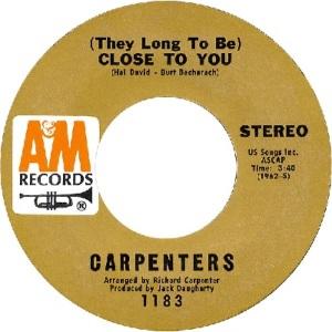 1970: U.S. Charts Hot 100 #21 U.K. #6