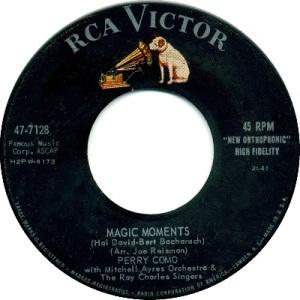 1958: U.S. Charts Hot 100 #4 U.K. #11