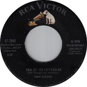 1961: U.S. Charts Hot 100 #21 C&W #2 U.K. #21