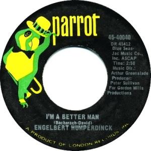 1969: U.S. Charts Hot 100 #38 U.K. #15