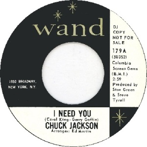 1964: U.S. Charts Hot 100 #85 R&B #22