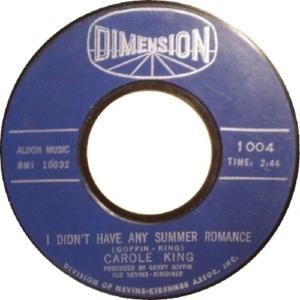 1962: Flip side School Bells - Did Not Chart
