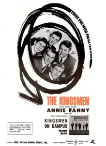 The Kingsmen September 1965