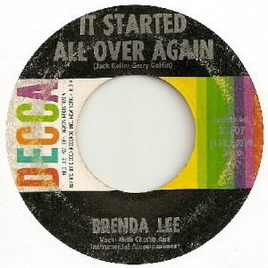1962: U.S. Charts Hot 100 #25 U.U. #12