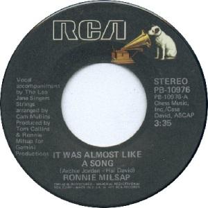 1977: U.S. Charts Hot 100 #16 C&W #1