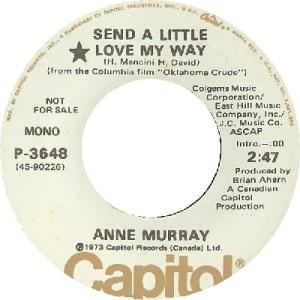 1973: U.S. Charts Hot 100 #72 C&W #10