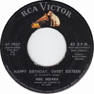 1961: U.S. Charts Hot 100 #6 U.K. #3